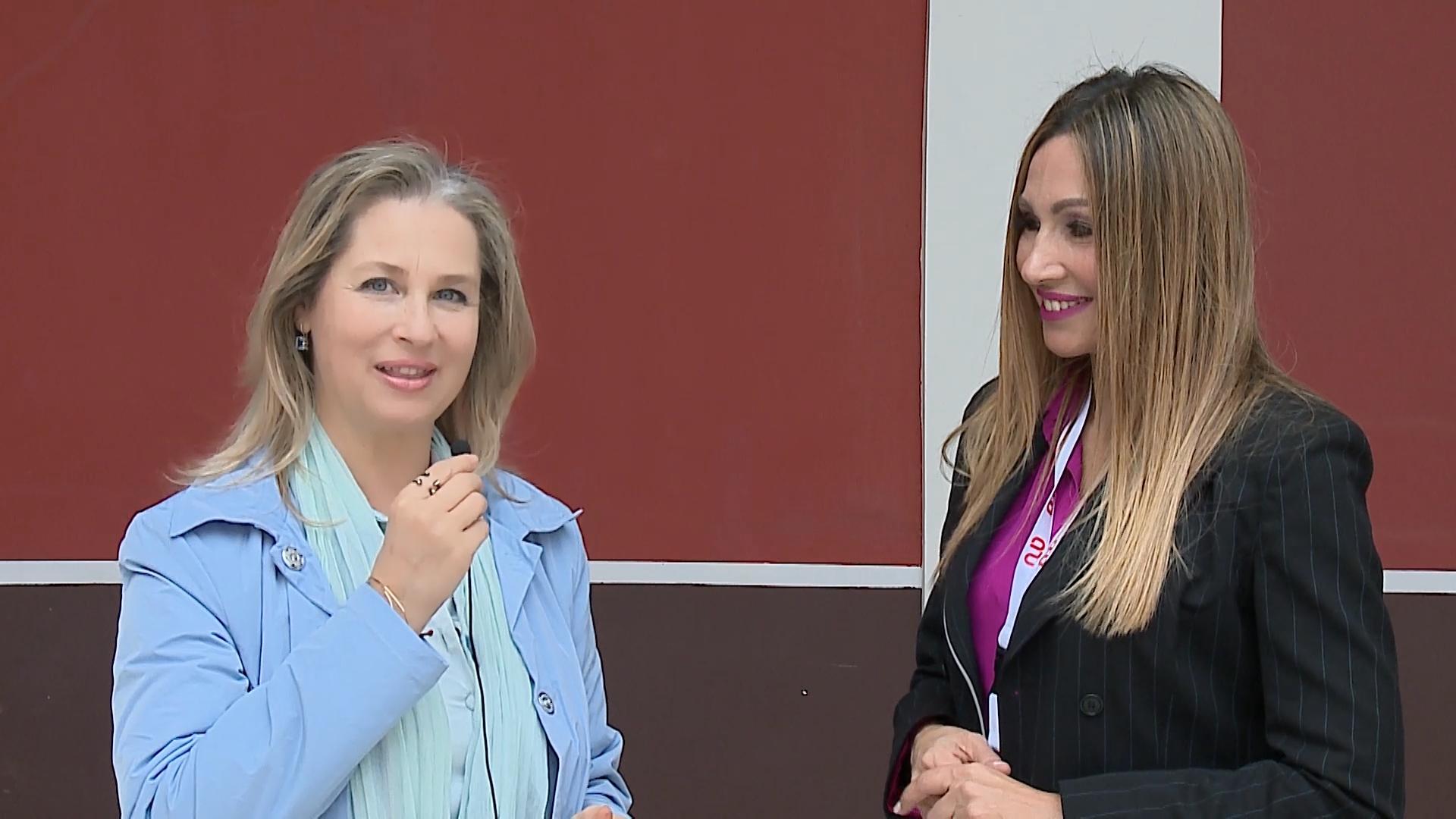 Η Ιφιγένεια Τσαντίλη συνομιλεί με την Ελένη Πετρουλάκη για σωστή άσκηση και ευεξία