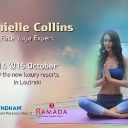 Η Face Yoga Instructor Danielle Collins στο Λουτράκι!