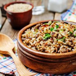 Φακές με ρύζι