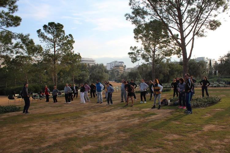 Το Σάββατο, 3 Φεβρουαρίου στο Ίδρυμα Στάυρος Νιάρχος, μαθήματα Γιανγκ Ταιτσι Τσουαν για αρχαρίους, στο υπέροχο πάρκο.Ανοιχτά για το κοινό! Διατάσεις, ασκήσεις ενοποίησης του σώματος, Ταιτσι Τσικουνγκ και μια φορμα 8 κινήσεων η ύλη των μαθημάτων.